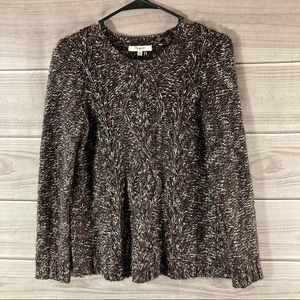 Madewell Firelight Marled Pull Over Sweater